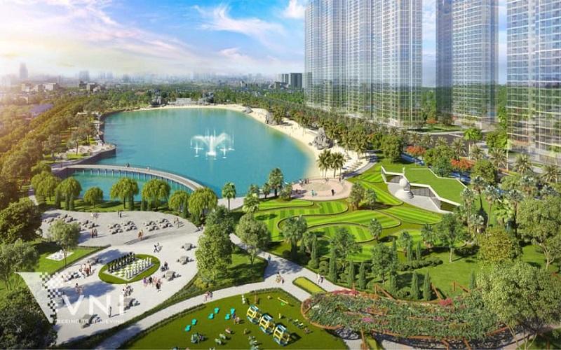 tiến độ dự án vinhomes smart city khi hoàn thành